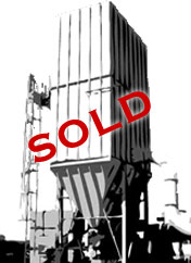 SOLD! MAC 120MCF255 (14-30,000 CFM) Reverse Air Baghouse Used Dust Collector-0