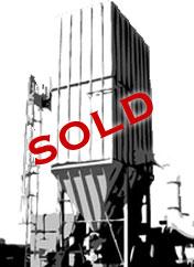 SOLD Uni-Wash DDB50 (5,000 CFM) Wet Downdraft Table-0