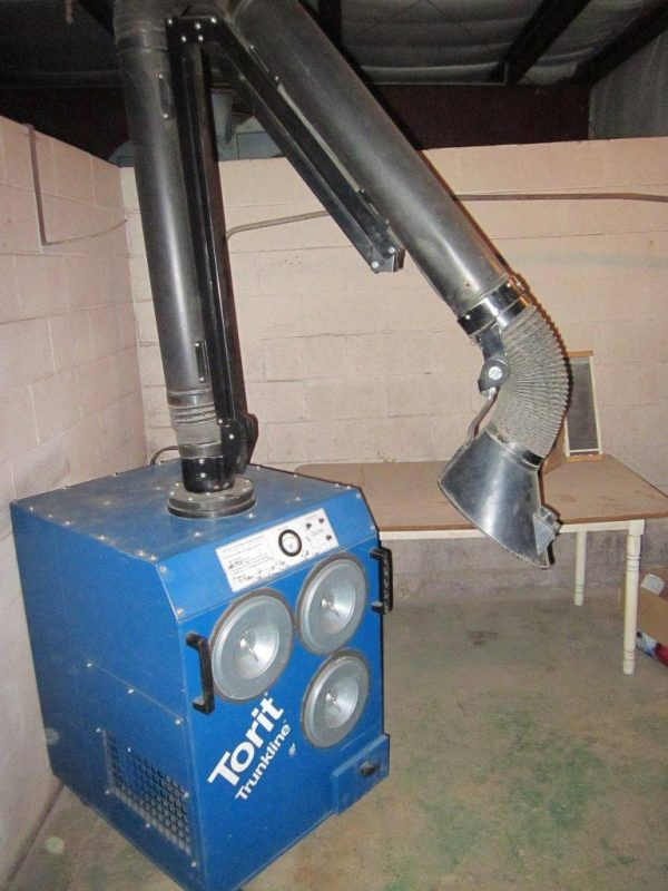 SOLD! Donaldson Torit Easy Trunk (750 CFM) Portable Fume Used Dust Collector -4261