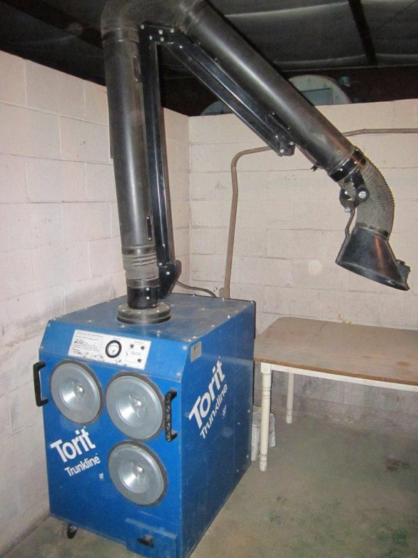 SOLD! Donaldson Torit Easy Trunk (750 CFM) Portable Fume Used Dust Collector -0