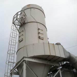 SOLD! Steelcraft 10-384-4742 (30,000 CFM) Used Reverse Air Baghouse Dust Collector-0