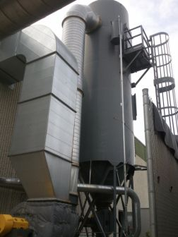 Donaldson Torit 156 RF 10 (20,000 CFM) Used Reverse Pulse Baghouse Dust Collector-0
