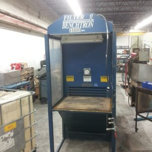 SOLD! Filter One Benchtron BFS 3-2-3F Downdraft Work Station-0