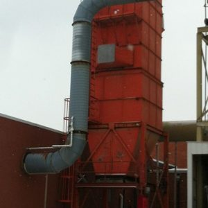 Murphy Rodgers MRJ 1410-10 (22,000 CFM) Used Pulse Jet Baghouse Dust Collector-0