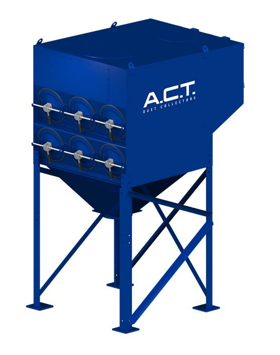 ACT 2-12 New (5,800 CFM) Cartridge Dust Collector-0