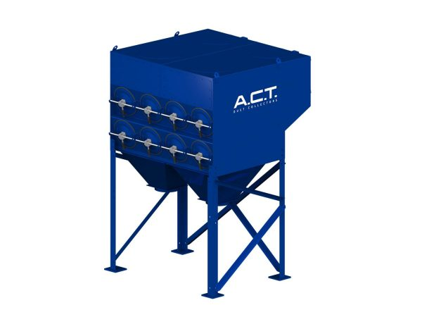 ACT 2-16 New (7,800 CFM) Cartridge Dust Collector-0