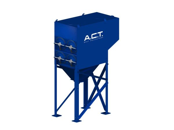 ACT 2-8 New (4,000 CFM) Cartridge Dust Collector-0