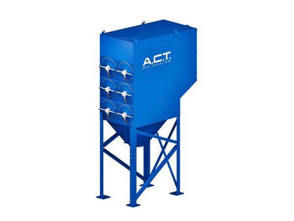 ACT 3-12 New (5,800 CFM) Cartridge Dust Collector-0