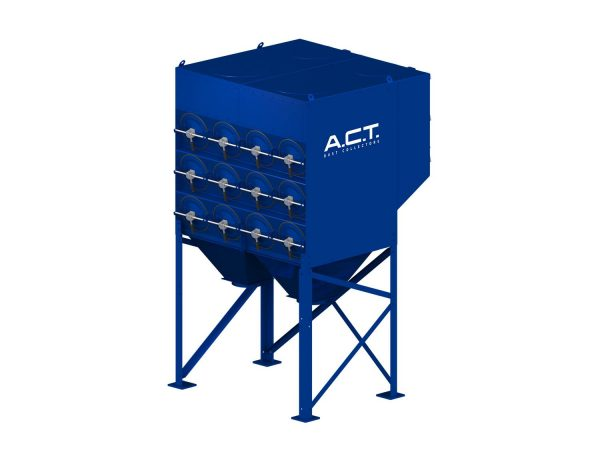 ACT 3-24 New (10,400 CFM) Cartridge Dust Collector-0