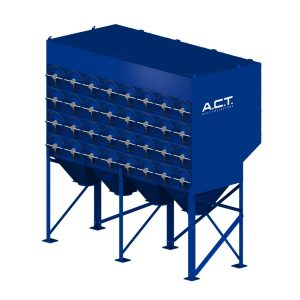 ACT 4-64 New (35,000 CFM) Cartridge Dust Collector-0