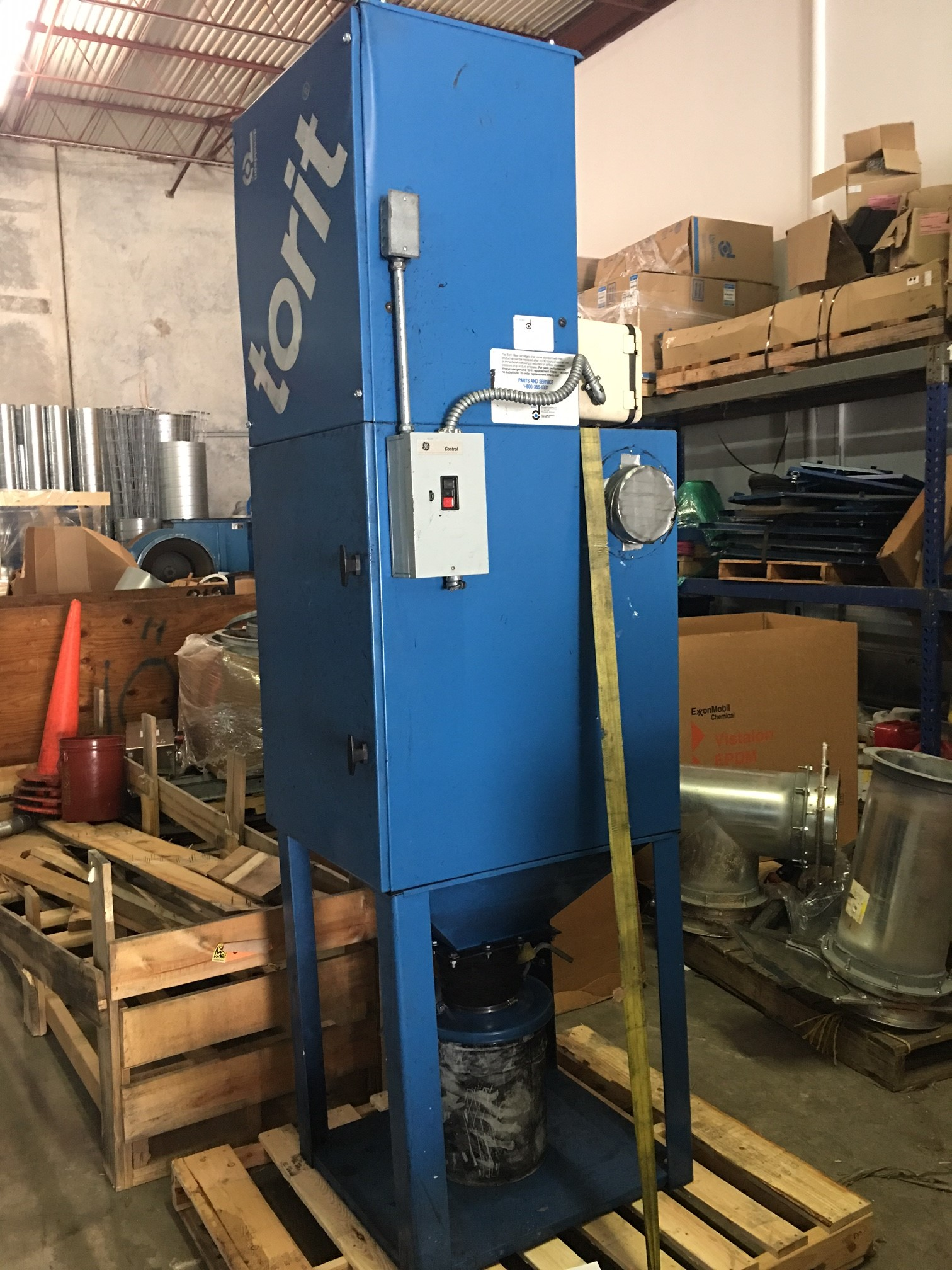 Donaldson Torit VS-1200 (1243 CFM) Used Cartridge Dust Collector-0