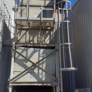 Murphy Rodgers MRAL-14 (4800 CFM) Used Shaker Baghouse Dust Collector-0
