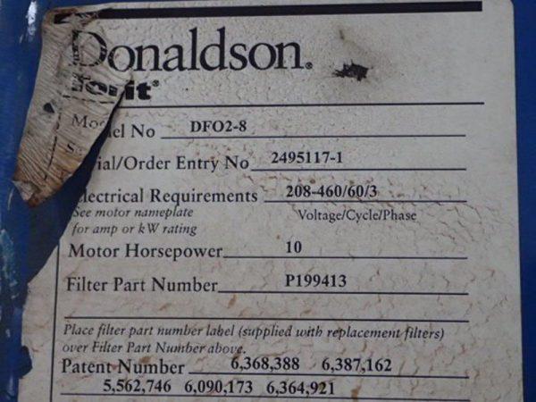 Donaldson Torit DFO 2-8 (3,040) CFM Used Cartridge Dust Collector-4968