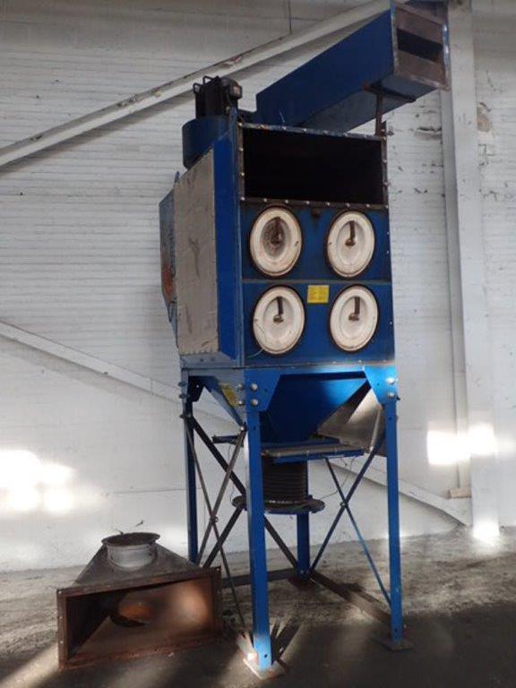 Donaldson Torit DFO 2-8 (3,040) CFM Used Cartridge Dust Collector-0