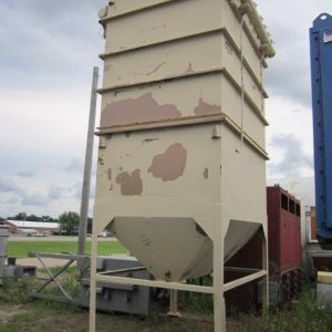 AAF 10-64 (8500 CFM) Used Bag House Dust Collector-0