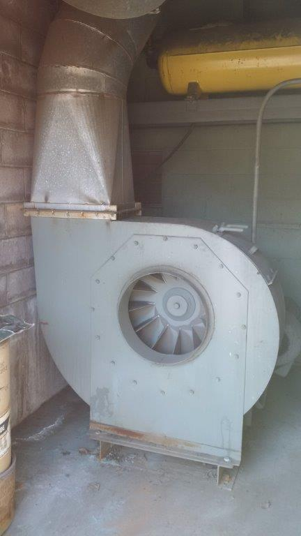 AAF 10-64 (8500 CFM) Used Bag House Dust Collector-5272