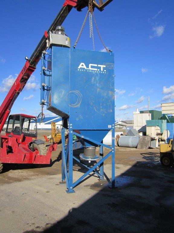 ACT 4-16 (4,721 CFM) Used Cartridge Dust Collector-5026
