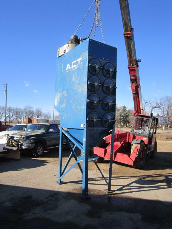 ACT 4-16 (4,721 CFM) Used Cartridge Dust Collector-0