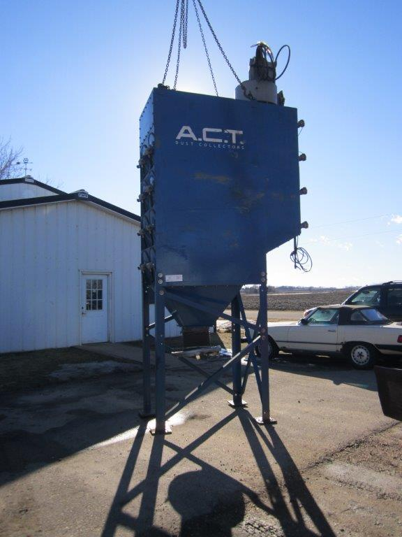 ACT 4-16 (4,721 CFM) Used Cartridge Dust Collector-5029