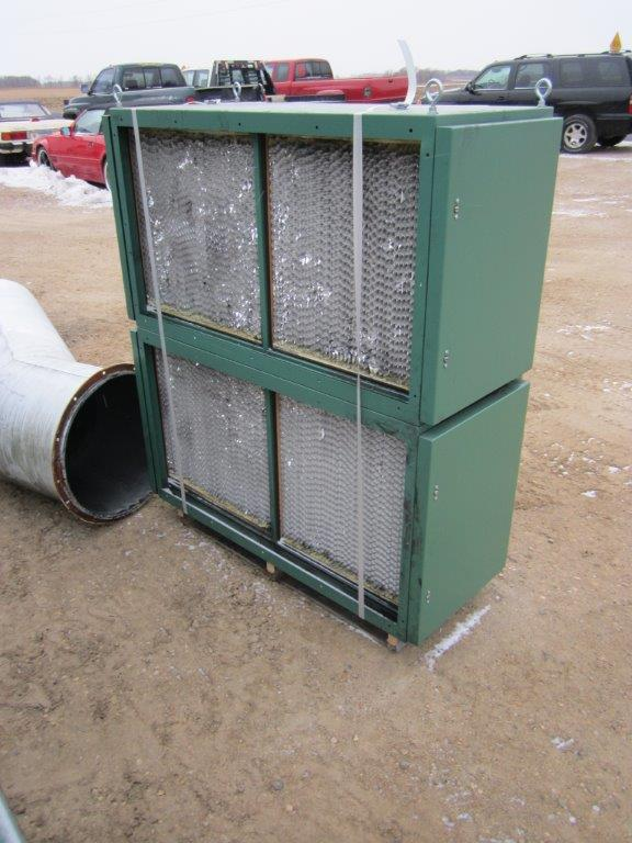 AER Control Systems AT12/VCDF-12 (10,000 CFM) Used Cartridge Dust Collector-5034