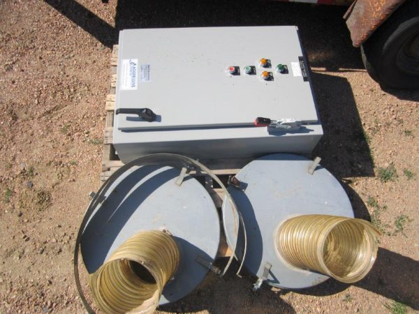 Aget DustKop-MistKop (6,000 CFM) Used Cyclone/After-Filter-5042