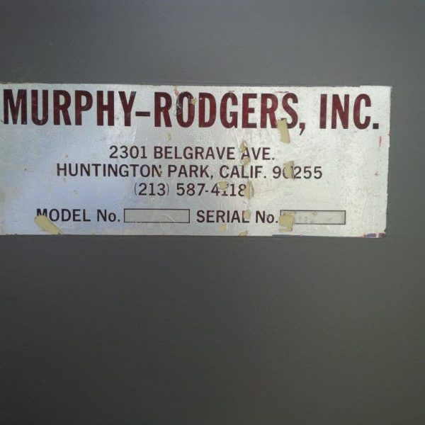 Murphy Rodgers - MRM 14 (4,800 CFM) Used Baghouse Dust Collector-5053