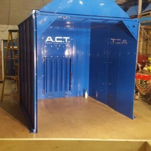 ACT ACTion Booth Enclosure 12'W x 8'H x 24'D New-0