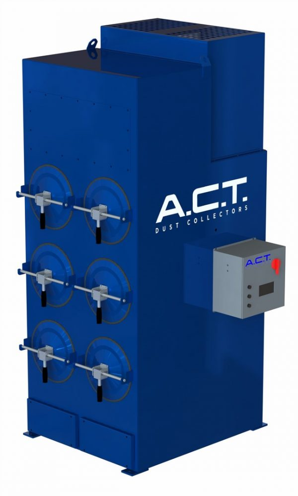 ACT LaserPack 6 (3,000 CFM) New Cartridge Dust Collector-0