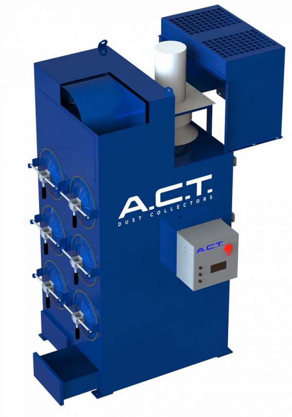 ACT LaserPack 6 (3,000 CFM) New Cartridge Dust Collector-5145