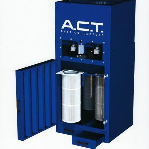 ACT ACTion Booth Power Module (5,400 CFM) New Cartridge Booth Dust Collector-0