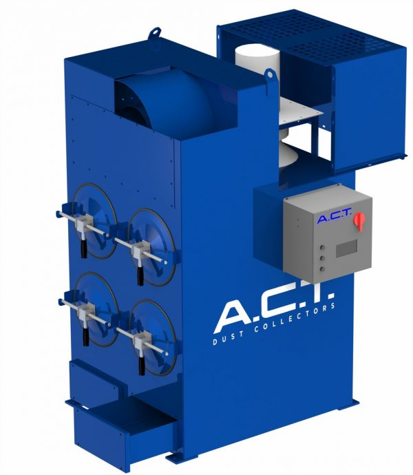 ACT LaserPack 4 (2,000 CFM) New Cartridge Dust Collector-5141