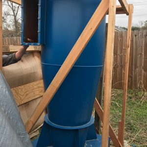 Donaldson Torit Cyclone 24 (2,500 CFM) Used Cyclone Dust Collector-0