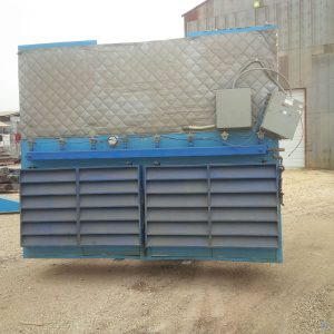 Filter One Backdraft Booth DB-20-64-2-7.5-12D-8H (40,000 CFM) Used Cartridge Dust Collectors-0