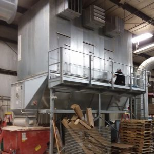 Dantherm Disa NFK-2000 (15,000 CFM) Used Baghouse Dust Collector-0