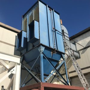 Donaldson Torit 100PJD10 (9,000 CFM) Used Baghouse Dust Collector-0