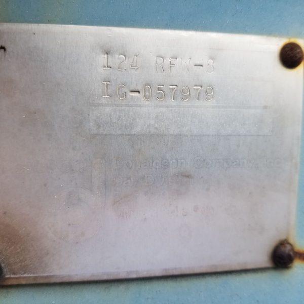 124 RFW-8 Model Plate