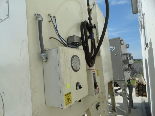 Guyson D1000, 801W Control Panel