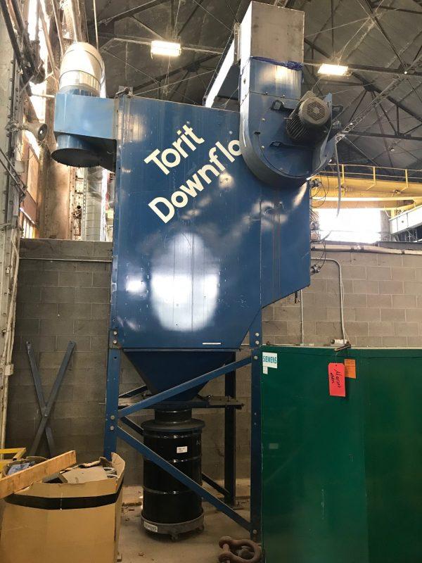 Donaldson Torit DFT 4-16 Side View