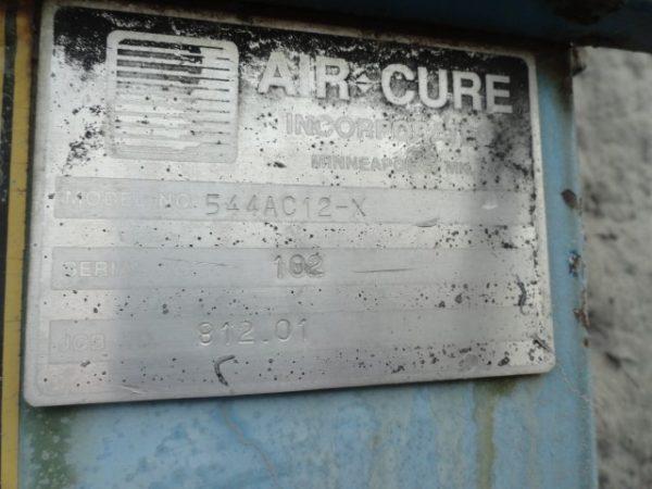 Air Cure 544RF12 Model Plate