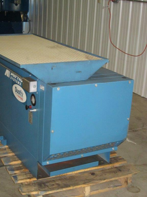 Side View of AirFlow Systems DTH-1700 Used Downdraft Table