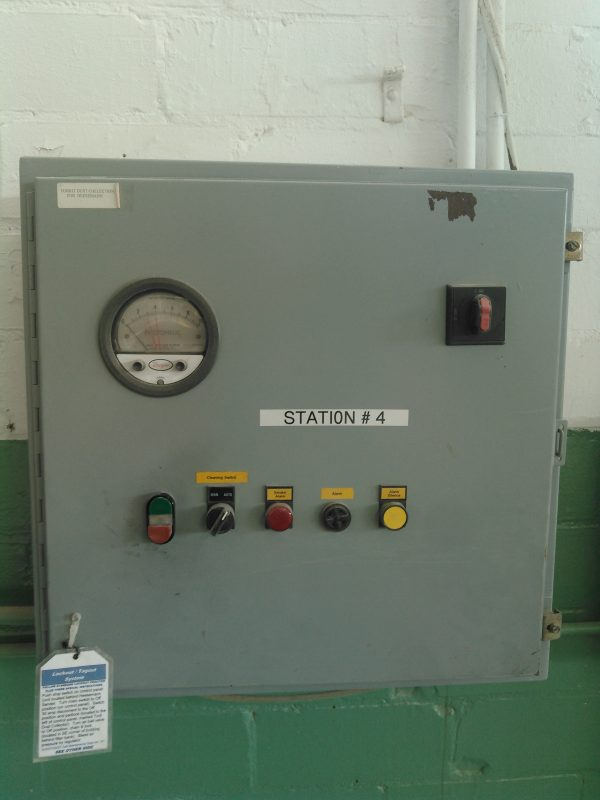 Control Panel for Donaldson Torit DFT 2-12