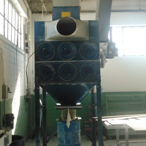 Front View of Donaldson Torit DFT 2-12 Dust Collector
