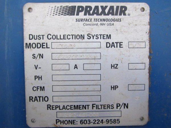 Model Plate for Donaldson Torit DFT 4-32