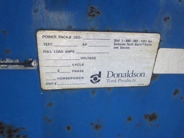 Fan Plate for Donaldson Torit DFT 4-32